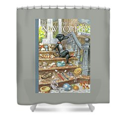 Tag Sale Shower Curtain