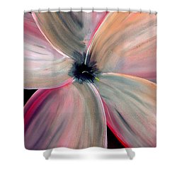 Dogwood Bloom Shower Curtain by Mark Moore