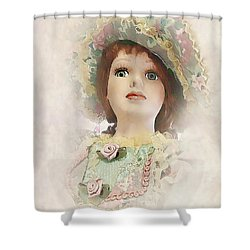 Doll 624-12-13 Marucii Shower Curtain by Marek Lutek