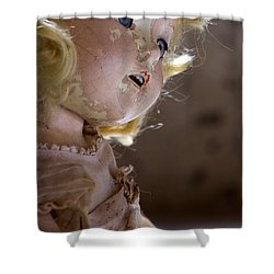 Doll In The Attic Shower Curtain