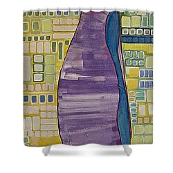 Doll Thief Shower Curtain by Donna Howard