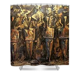 Immortals Shower Curtain