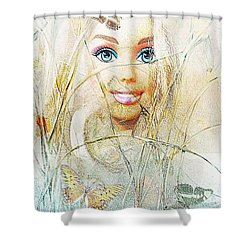 Dolls 406-08-13 Marucii Shower Curtain