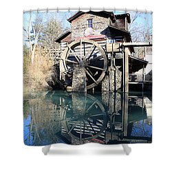 Corn mill shower curtains page 5 of 9 fine art america dolly wood water mill shower curtain ccuart Images