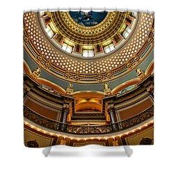Dome Designs - Iowa Capitol Shower Curtain