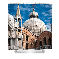 Dome Of St Marks Shower Curtain
