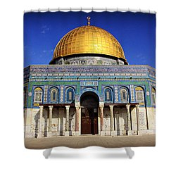 Dome Of The Rock Shower Curtain by Stephen Stookey