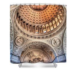 Domed Ornate Interior Shower Curtain