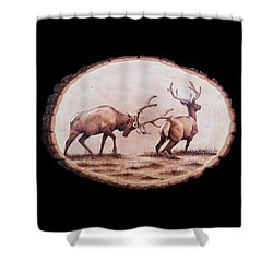 Dominance Shower Curtain by Minisa Robinson