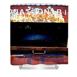 Donation Bin Shower Curtain by Ed Weidman
