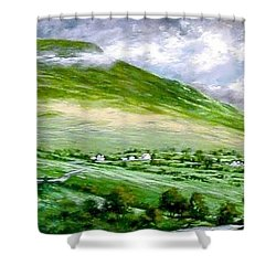 Donegal Hills Shower Curtain