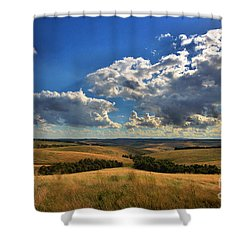 Donny Brook Hills Shower Curtain by Joy Watson