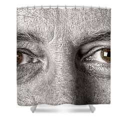 Dont Let The Stars Get In Your Hazel Eyes Shower Curtain by James BO  Insogna