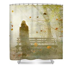Don't Look Back ... Shower Curtain