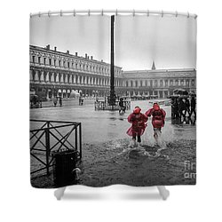 Shower Curtain featuring the photograph Don't Postpone Joy by Peta Thames