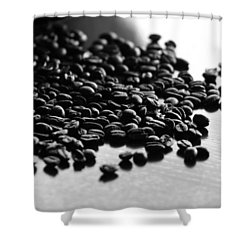 Shower Curtain featuring the photograph Don't Spill The Beans by Lisa Parrish