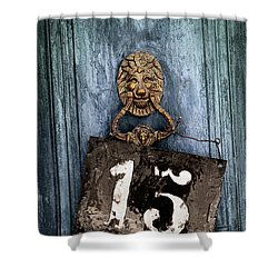Door 15 Shower Curtain by Carlos Caetano