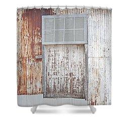 Shower Curtain featuring the photograph Door 2 by Minnie Lippiatt