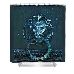 Door Knocker Shower Curtain