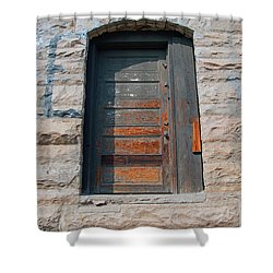 Door Series 2 Shower Curtain