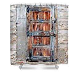 Door Series Shower Curtain by Minnie Lippiatt