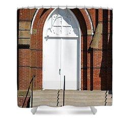 Door To Heaven Shower Curtain