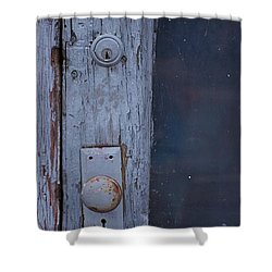 Door To The Past Shower Curtain by Randy Pollard