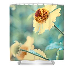 Doronicum Shower Curtain
