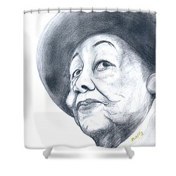 Dorothy Height Shower Curtain