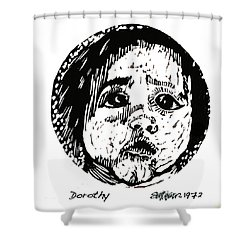 Dorothy Shower Curtain by Seth Weaver