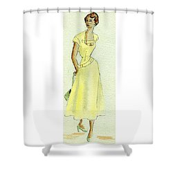 Summer Sunshine Shower Curtain by Beverly Solomon Design