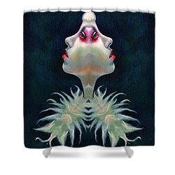 Double Faced Shower Curtain