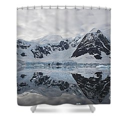 Doubleup... Shower Curtain by Nina Stavlund