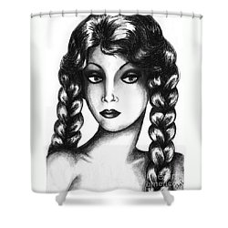 Doubt Shower Curtain