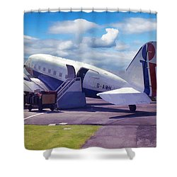 Douglas Dakota Dc3 Shower Curtain