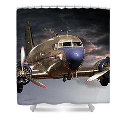 Douglas Dc 3 Shower Curtain