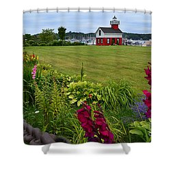 Douglas Lighthouse Water Tower Shower Curtain