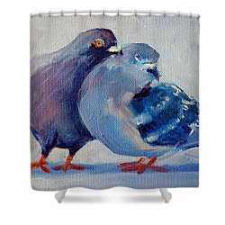 Doves Shower Curtain