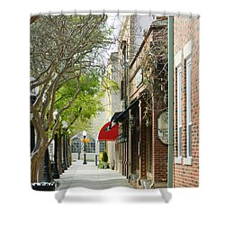 Downtown Aiken South Carolina Shower Curtain by Andrea Anderegg