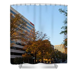 Downtown Chattanooga Shower Curtain by Melinda Fawver