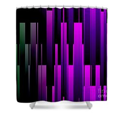 Downtown Shower Curtain by Kristi Kruse