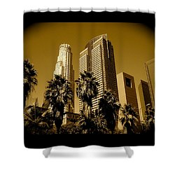 Downtown Los Angeles Shower Curtain