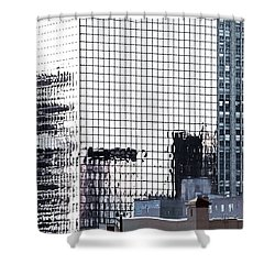 Downtown Newark Nj Shower Curtain