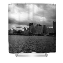 Downtown Pittsburgh Shower Curtain