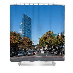 Downtown White Plains New York IIi Shower Curtain