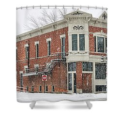 Downtown Whitehouse  7031 Shower Curtain