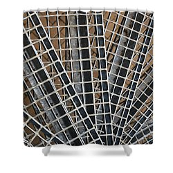 Shower Curtain featuring the photograph Downward Spiral by Wendy Wilton