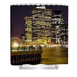 Downtown Lights Shower Curtain