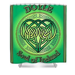 Doyle Soul Of Ireland Shower Curtain