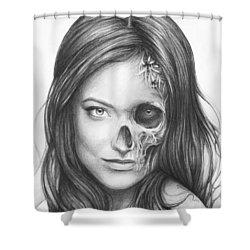 Dr. Hadley Thirteen - House Md Shower Curtain by Olga Shvartsur